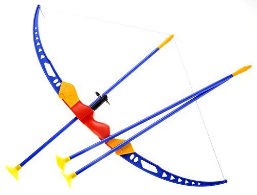 PowerTRC Sport Super Archery Children's Kid's Toy Bow and Arrow Dart Playset W/Suction Arrows]()