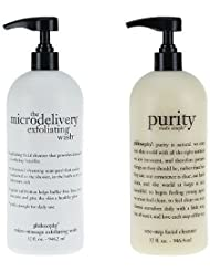 Philosophy Purity Facial Cleanser & Microdelivery Skin Care, 32 oz. Each