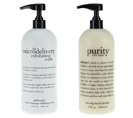 Philosophy Purity Facial Cleanser & Microdelivery Skin Care, 32 oz. Each by Philosophy