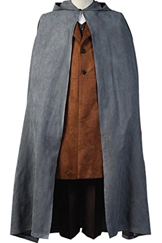 Cosdaddy® The Lord of the Rings Frodo Baggins Cosplay Costume (Man-XL)