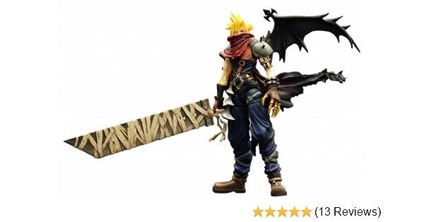 Kingdom Hearts Play Arts Vol 2 Action Figure Cloud Strife Coliseum Ver