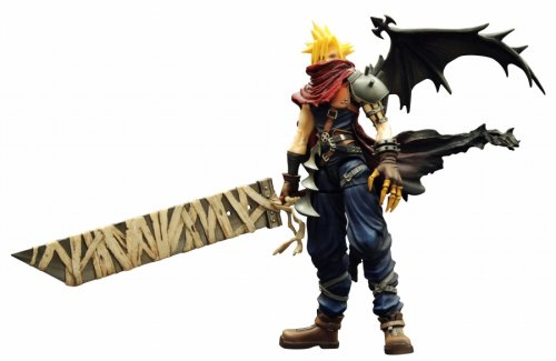 Figure Play Arts Action 2 (Kingdom Hearts Play Arts Vol. 2 Action Figure - Cloud Strife Coliseum Ver.)