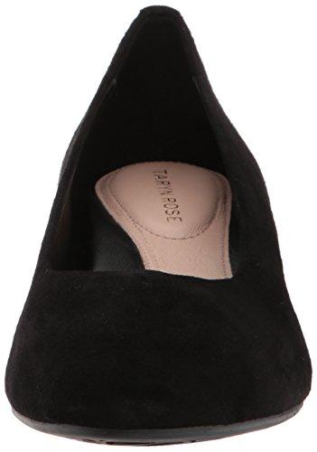 Black Babs Rose Suede Silky Women's Taryn Pump n8pPqw7nC