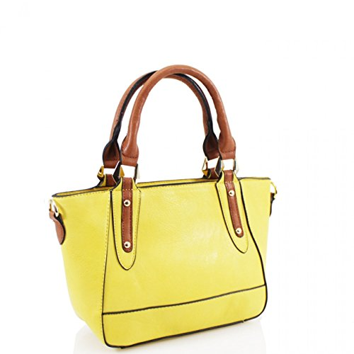 Handbags Size Tote Yellow Top X For Girl Shoulder 963 D10cm Small W33cm Women X H20cm LeahWard Women's qpEHYY