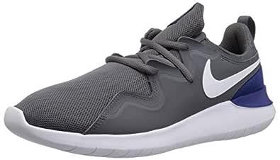 Nike Men's Tessen Running Shoe, Dark Grey/White-Deep Royal Blue, 11 Regular US