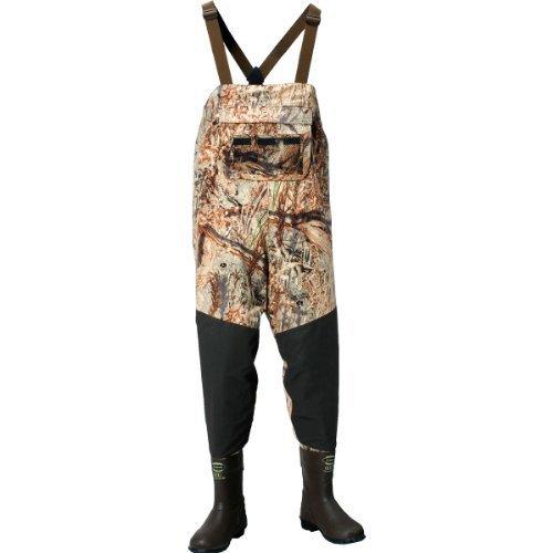 - LaCrosse Men's Alpha Swampfox Mossy Oak Duck Blind 600G Wader Boots, 13-Medium