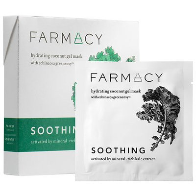 Farmacy SOOTHING COCONUT GEL MASK Activated by Mineral-rich