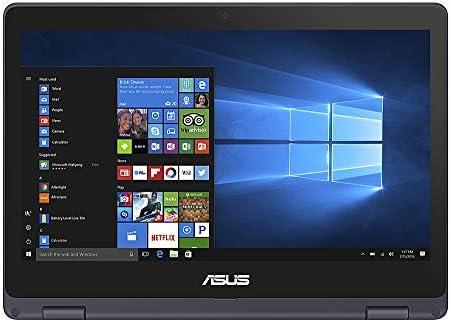 ASUS VivoBook Flip 2020 Premium Thin and Light 2-in-1 Laptop I 11.6″ HD Touchscreen I Intel Core Celeron N3350 I 4GB RAM 64GBeMMC I Office 365 Win 10 + Delca 16GB Micro SD Card 41pdzkyxfBL