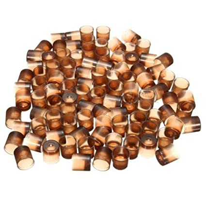 THICK Brown Beekeepers Bee Queen Royal Beekeeping Raise Rearing Cell Cup 200 Pcs