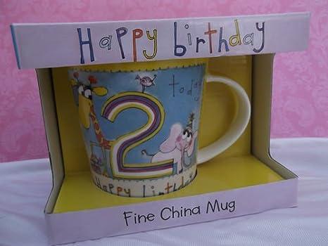 Rachel Ellen feliz cumpleaños hoy 2/taza de la taza: Amazon ...