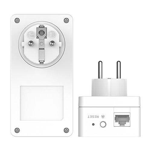 D-Link DHP-P601AV – Kit Powerline AV2 PLC 1000 Extensor de Red por cableado eléctrico del hogar, con Toma de Enchufe...