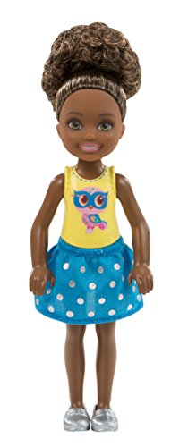 - Barbie Club Chelsea Doll, Owl Graphic Outfit