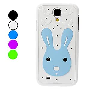 Cute Rabbit Pattern Hard Case for Samsung Galaxy S4 I9500 (Assorted Colors) --- COLOR:Green