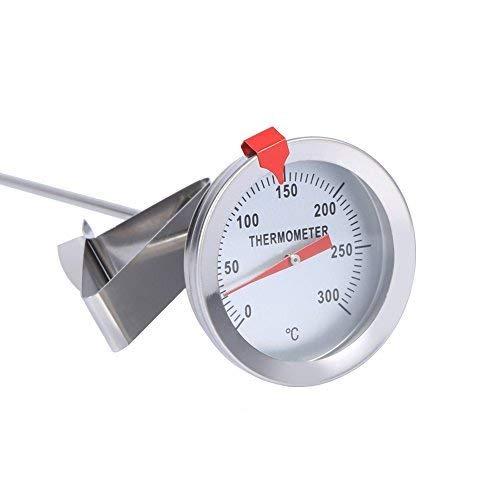 Kochen Thermometer Sonde Thermometer BBQ Thermometer Putzbox Thermometer Stahl-Thermometer Kü che Thermometer Edelstahl fü r die Lebensmittel Kochen Braten Fleisch Yosoo
