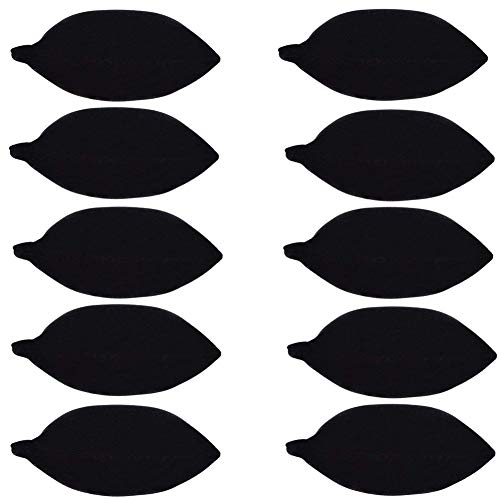 B-PRTT 10-Pieces Velvet Small Bracelet/Watch Pillow Jewelry Displays (Black)