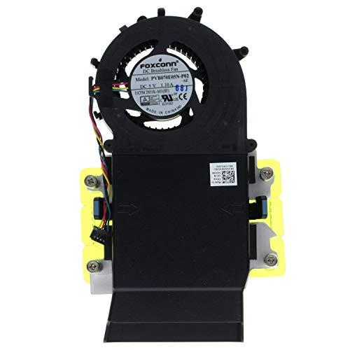 Fan Shroud Heatsink w/Screws for Optiplex 3020 Micro 9020M 7040M 3040M 5040M 5JV3N ()