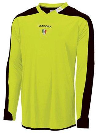 - Diadora Enzo Goalkeeper Jersey Shirt, Matchwinner Yellow, Medium