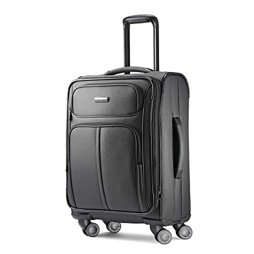 Samsonite Leverage LTE Spinner 20 Carry-On Luggage, Charcoal by Samsonite