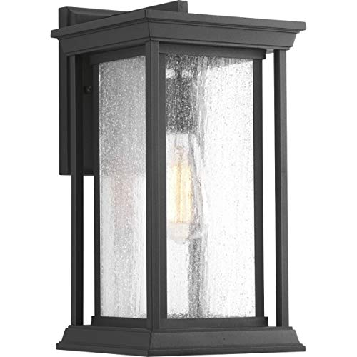 Progress Lighting P5610-31 Endicott Black One-Light Medium Wall Lantern,