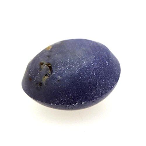 Saphir Etoilé Violet Bleu . 4.46 cts. Ceylan