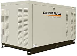 Generac Guardian Series QT03016ANSX 30,000 Watt Liquid Cooled Propane/Natural Gas Powered Standby Generator Without Transfer Switch (Discontinued by Manufacturer)