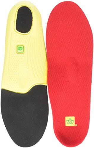(Spenco Unisex PolySorb Walker/Runner Insole Red Insole)