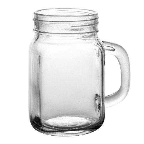 Barconic 12 Ounce Mason Jar Mug by BARCONIC