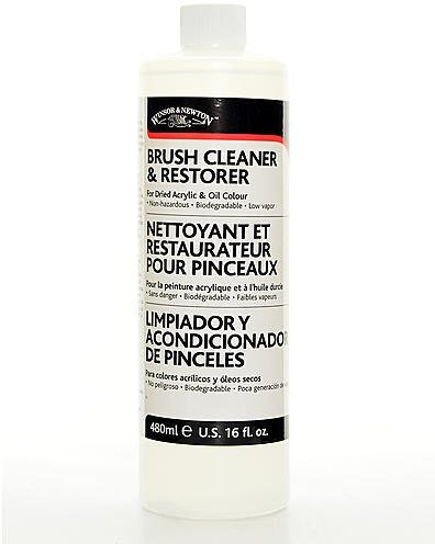 Winsor And Newton Brush Cleaner And Restorer (474 ml) by BIMS