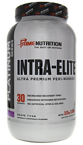Prime Nutrition Platinum Series Intra-Elite Ultra Premium Peri-Workout Formula Grape Titan 3.17lbs