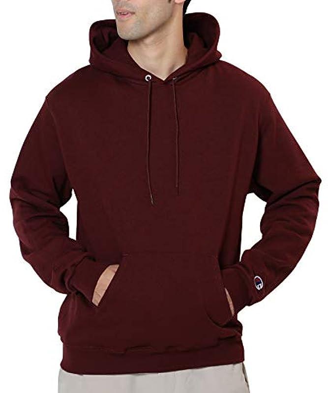 Champion(챔피언) 베이직 원 포인트 로고 파커 맨즈 스웨트 (pullover)풀오버 뒤기모