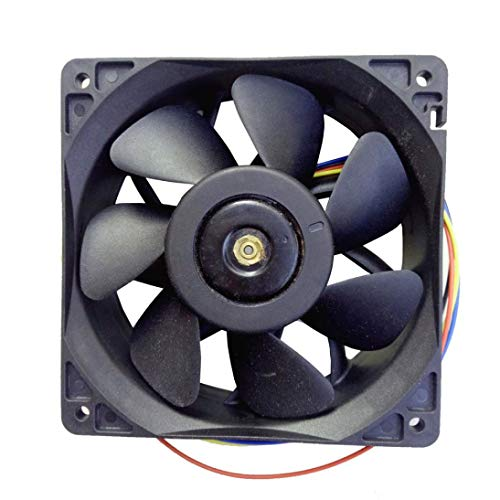 - GXOK 7500RPM Cooling Fan Replacement 4-pin Connector for Antminer Bitmain S7 S9 [Ship from USA Directly]
