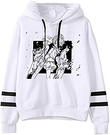 JFLY The Promised Neverland Hoodies Hombres Harajuku Japanese Anime Hoodie Emma Norman Ray Graphic Streetwear Sudaderas Unisex Hombre