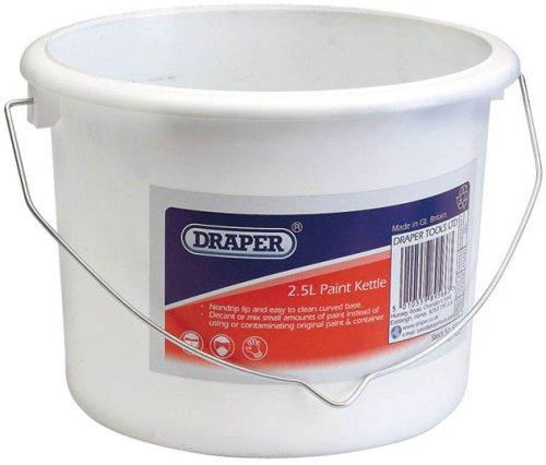 Draper 89566 2.5-Litre Plastic Paint Kettle Draper Tools