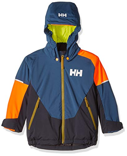 (Helly Hansen Little Kids K Rider Ins Jacket, Dark Teal, Size 5)