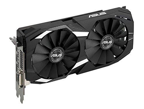 ASUS DUAL-RX580-O8G Radeon RX 580 8GB - Tarjeta gráfica (AMD, Radeon RX 580, 7680 x 4320 Pixeles, 1360 MHz, 1380 MHz, 7680 x 4320 Pixeles)