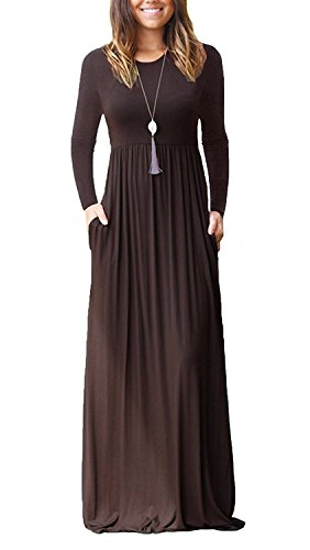 maxi dress and jean jacket - 2