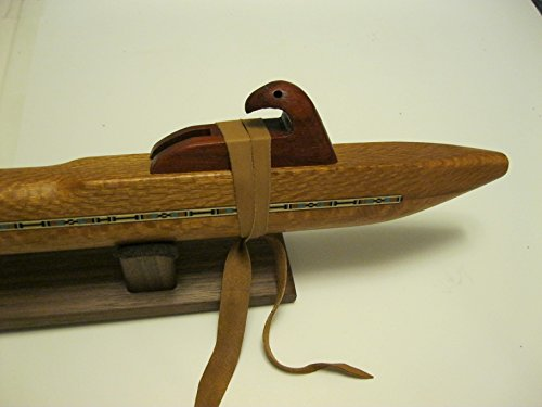 Native American Flute - Solid Figured Lacewood - Key of Deep Low B - Hand Made - Highest Quality - Awesome sound