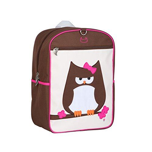 Beatrix New York Big Kid Pack, Papar (Owl), Brown, One Size