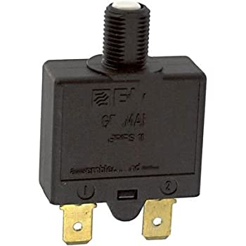 E-T-A Circuit Protection and Control 2-5700-IG1-K10-DD-20A Circuit Breaker; Therm; Push; Cur-Rtg 20A; Panel; 1 Pole; Vol-Rtg 250//28VAC//VDC
