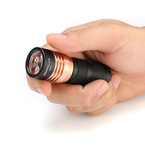 7 opinioni per Torcia Elettrica, Astrolux S41 4x Nichia 219B/ XP-G2 A6 1600LM Mini Torcia a LED