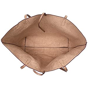 Desigual Bols_siara Capri Not Reversible – Borse a spalla Donna, Marrone (Beige Safari), 28x13x30 cm (B x H T)