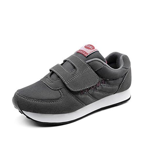 zapatos otoño a pie/Antiguos zapatos de los deportes/viejas zapatillas casuales/Suave antideslizante calzado para señora mayor B