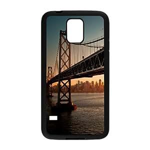 San Francisco Bridge Side Samsung Galaxy S5 Case, Case for Samsung Galaxy S5 Mini Unique Design by Rock Evekiss - Black
