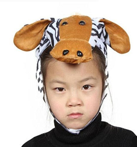 Sevenpring Chic Design Cute Kids Performance Accessories Cartoon Animal Hat (Zebra) by Sevenpring
