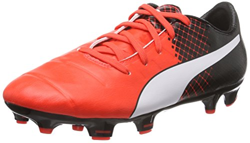 Puma Evopower 1.3 Tricks Fg Jr - Botas de fútbol Unisex Niños Rojo - Rot (Red blast-puma white-puma Black 03)