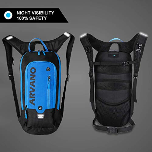 6L Ski for Water Mini Outdoor 2L Cycling with Hydration Backpack Waterproof Lightweight Breathable Bag Backpack Camping Shoulder Blue Bladder Hiking Backpack Biking Jarvan Pack Sport Rucksack Biking OOqrw1