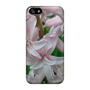 NadaAlarjane Iphone 5/5s Well-designed Hard Case Cover Pink Hyacinth Protector