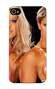 Gyusma-2950-dapbzan Case Cover Protector Series For Iphone 5/5s Wwe Divas Wrestling Sexy Babe Case For Lovers