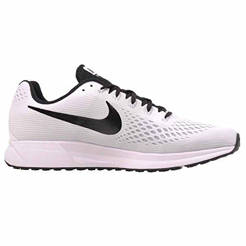 Nike Air Zoom Pegasus 34 Mens Scarpe Da Corsa Bianco / Nero