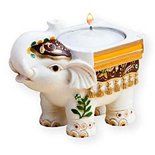 Good Luck Elephant Candle Holders - 24 count ()